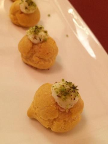 In Fucina, il benvenuto dello chef