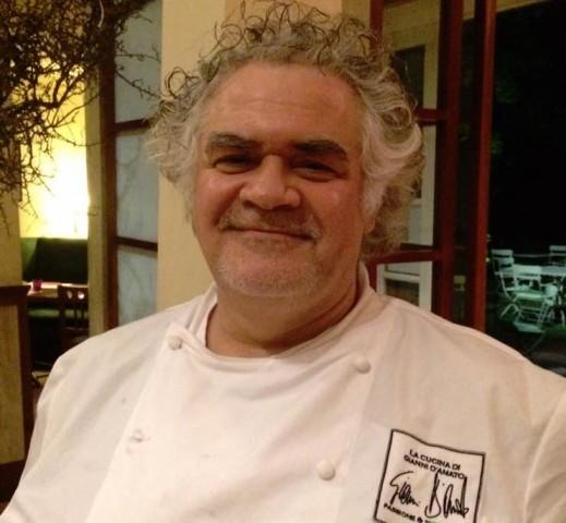 Lo chef Gianni D'Amato
