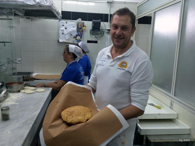La masardona, Enzo Piccirillo e la pizza fritta