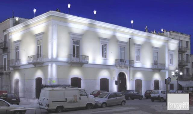 Palazzo, notturno