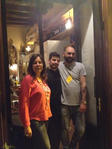 Le Vecchie Carceri, Paola, Carmine e Paolo