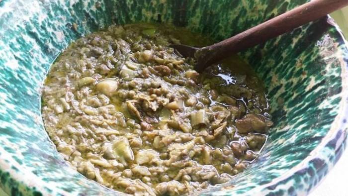 zuppa con i Carciofi Bianchi di Pertosa