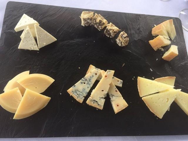 Villa Cimbrone, formaggi