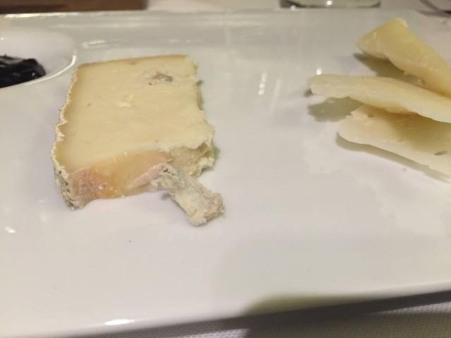 Casa del Nonno, formaggi (blu di bufala e canestrato di Moliterno)