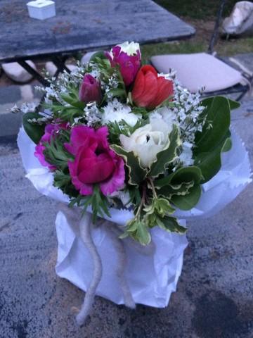 La Locanda del Borgo, i fiori all'esterno
