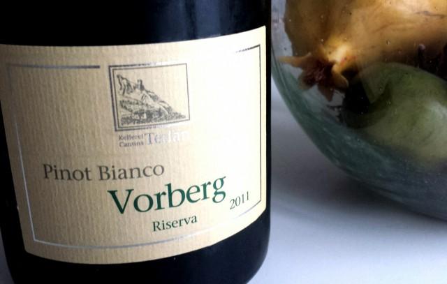 A.A. Pinot Bianco Vorberg, Riserva 2011