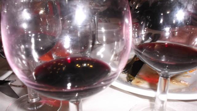 Aglianicone nei bicchieri