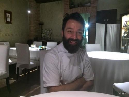 Antica Osteria Marconi a Potenza. Lo chef Giuseppe Misuriello