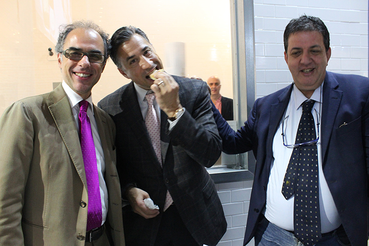 Antimo Caputo, Fred Mortati e Luciano Pignataro a lsdm New York