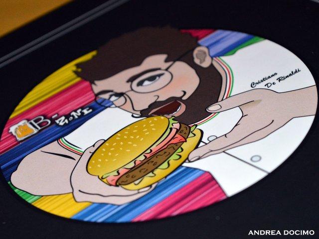 B-Zone & La Taverna di Bacco. Il Panino di Cristiano con Teo Musso. Il nuovo logo