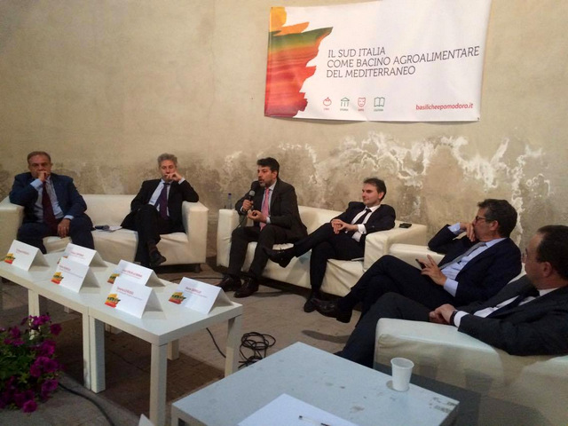 Basiliche e Pomodoro Il Convegno sul Mediterraneo