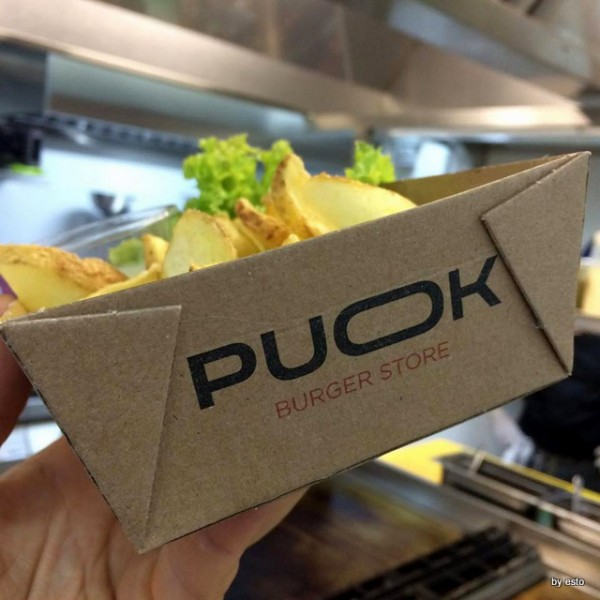 Egidio Cerrone  apre  Puok Burger Store le patatine