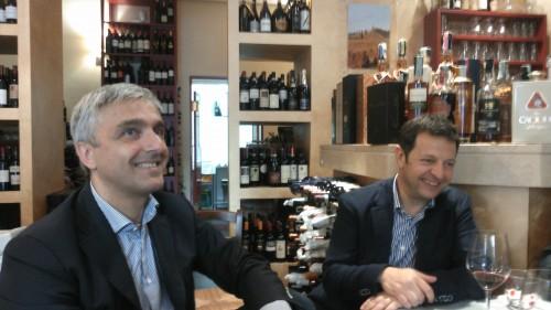 Emanuele Pangrazi e Giovanni Vagnoni