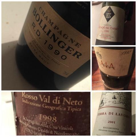Qafiz di Nino Rossi, i vini