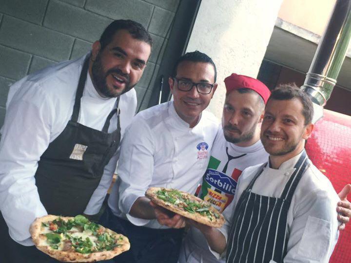 Pizza Stellata con Gino Sorbillo-Roy Caceres-Giulio Terrinoni