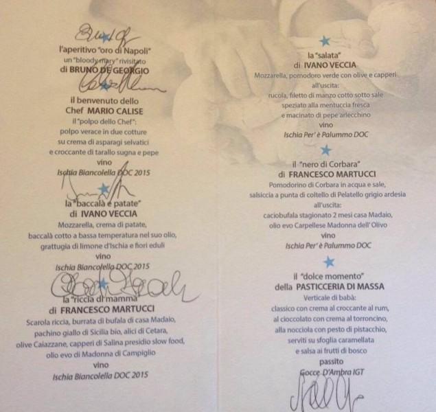 Il Limoneto Veccia Martucci il menu