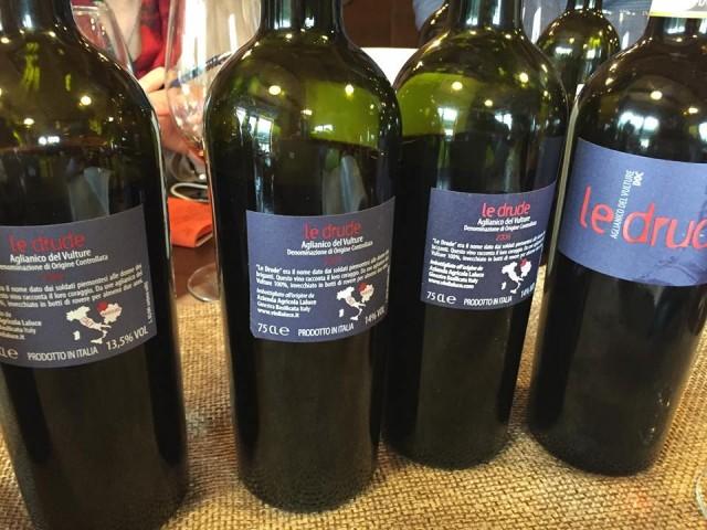 Le Drude Aglianico del Vulture Michele Laluce: verticale 2012-2007 -  Luciano Pignataro Wine Blog