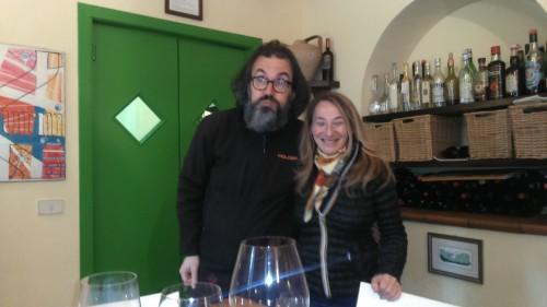 Marco Casolanetti e Eleonora Rossi presso Oasi degli Angeli
