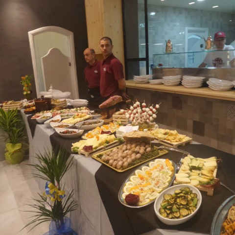 Mazz e Panell - il buffet