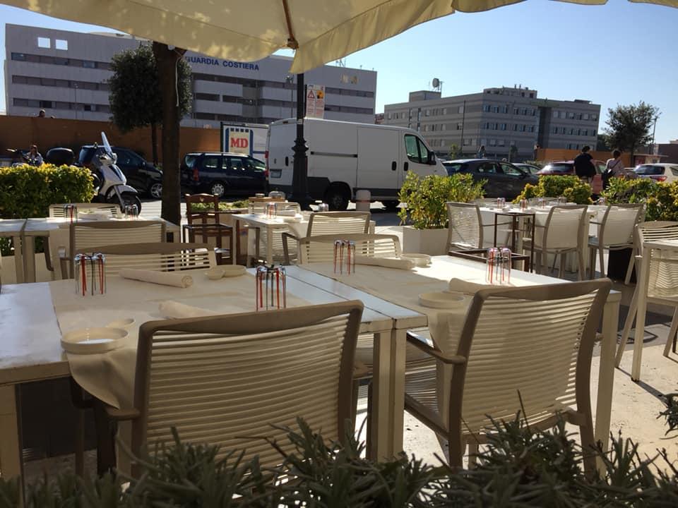 Osteria dell'Orologio, i tavoli all'aperto