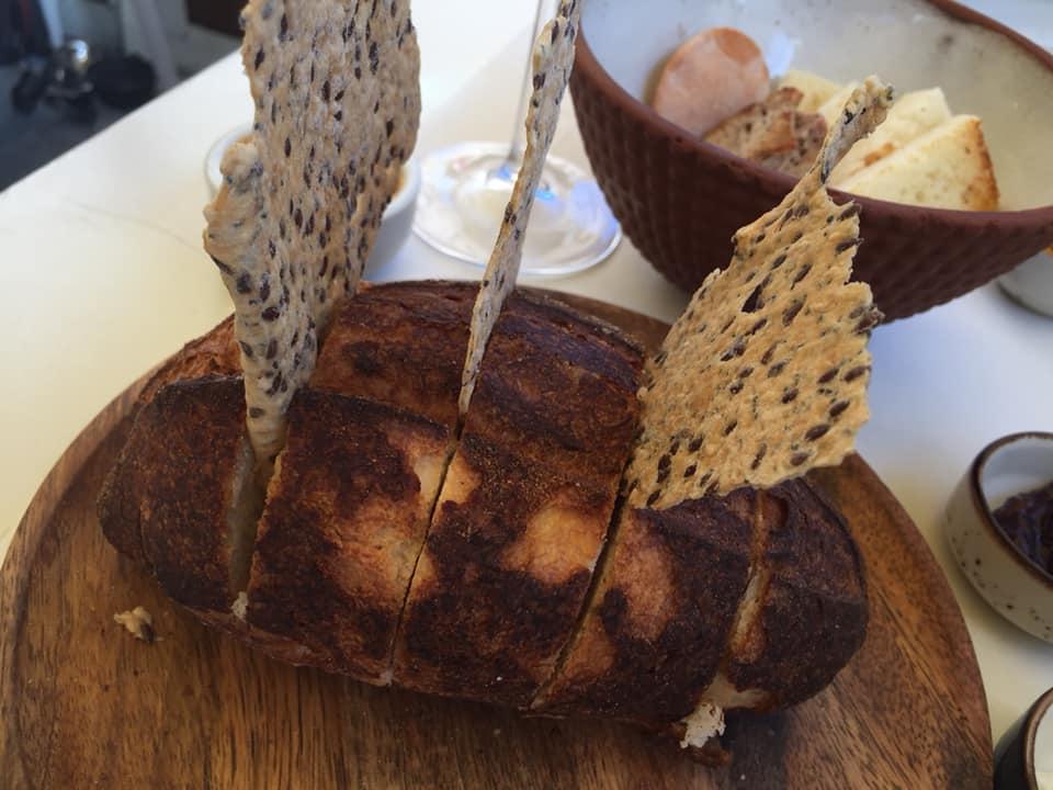 Osteria dell'Orologio, pani e crackers