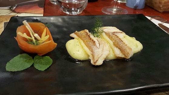 PINETA, Luvaro su patate soffritte e limone