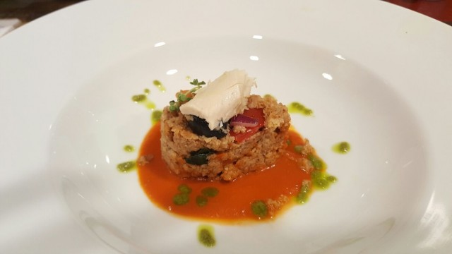 PINETA, Benvenuto dello chef Giuliano, Caponatina