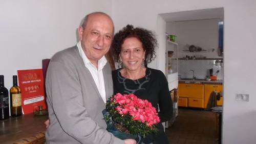 Pasquale Amitrano e Betty Iuorio