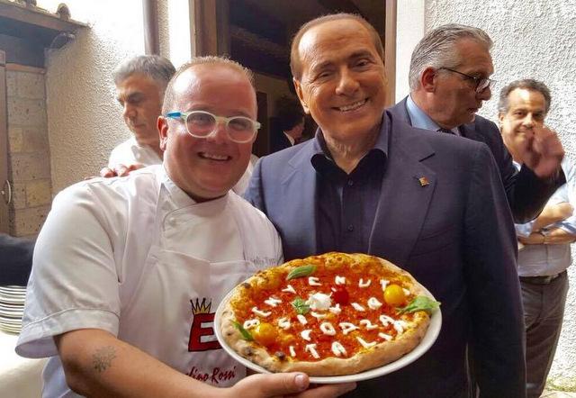 Pasqualino Rossi la Pizza per Berlusconi