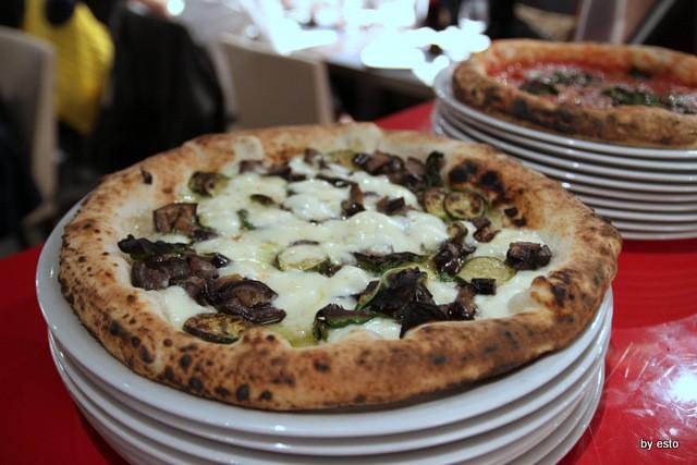 Pizza Cucina Caffe Ivan Di Leva Pizza fiordilatte zucchine melanzane