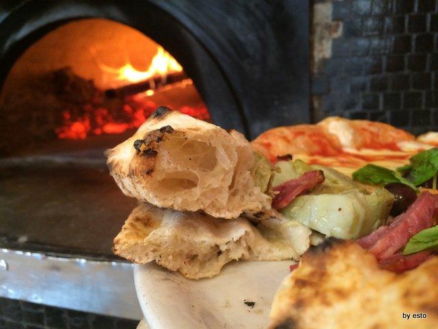 Pizzeria Franco Franco Gallifuoco la struttura della pizza