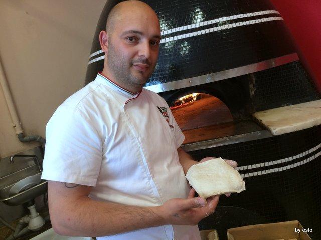 Pizzeria Franco Franco Gallifuoco l'impasto