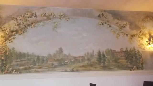 Ristorante Acquerello - Acquerello sulla parete