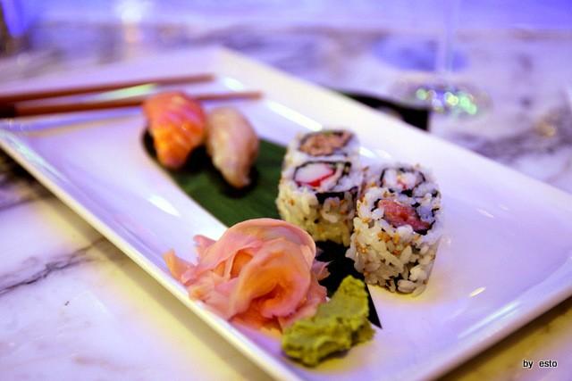 Romeo Bar Sushi Nigiri  Uramaki zenzero e wasabi