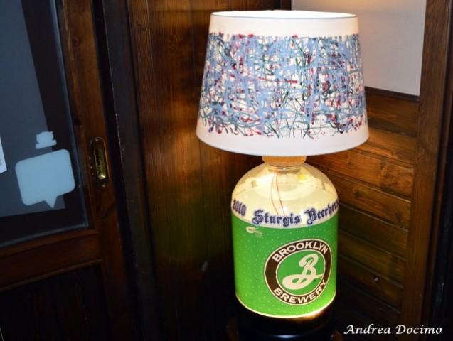 Sturgis Beerhouse a Brusciano. Dettaglio del locale