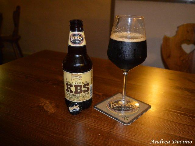 Sturgis Beerhouse a Brusciano. La KBS di Founders Brewing Co.