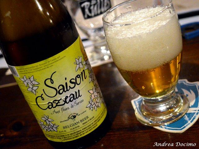 Sturgis Beerhouse a Brusciano. La Saison di Brasserie de Cazeau