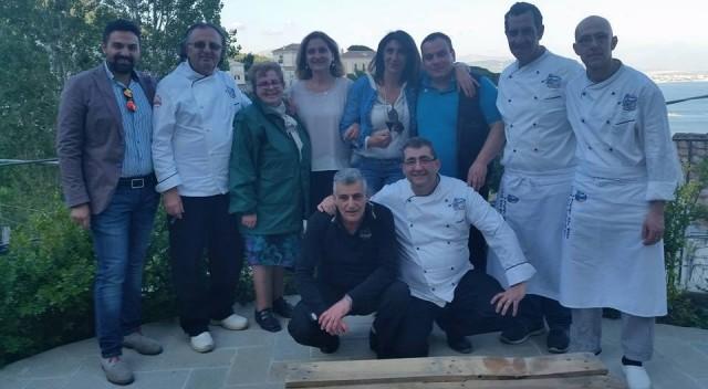 Chef con presidente Onas