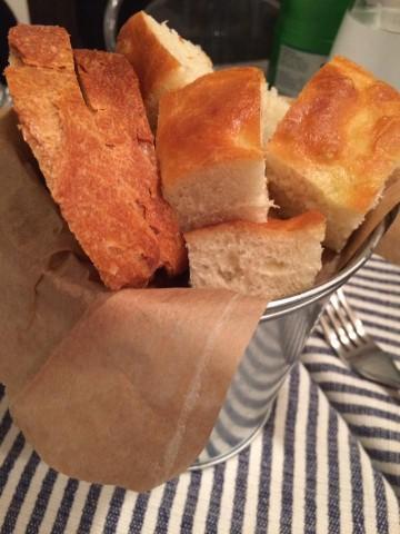 Pigneto 1870, pane e focaccia