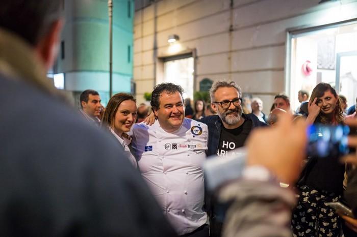 Festa a Vico: Gennaro Esposito e Massimo Bottura
