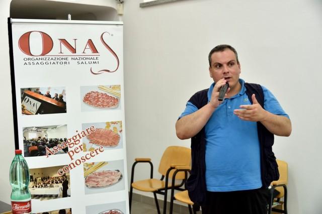 Il delegato di Salerno Marco Contursi