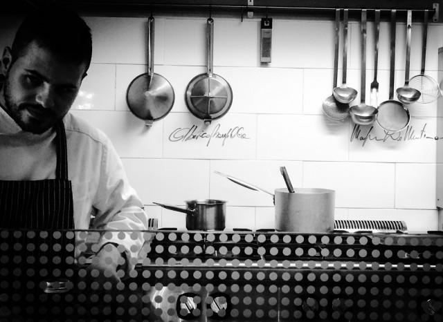Pasquale Palladino cucina a vista