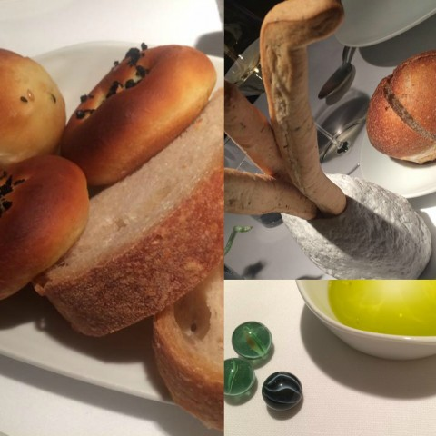 Il Tino, pane, grissini, e l'olio