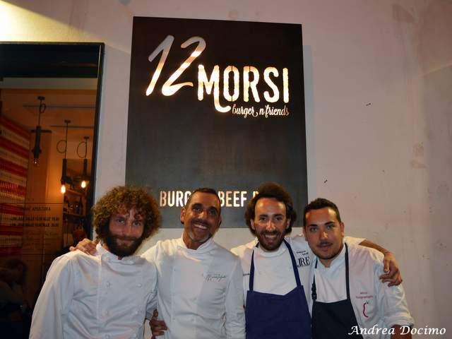 1 CHEF, 2 STELLE, 3 PANINI con Francesco Sposito da 12 Morsi. I protagonisti
