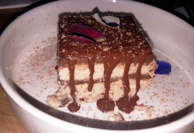 Tiramisu cacao espresso