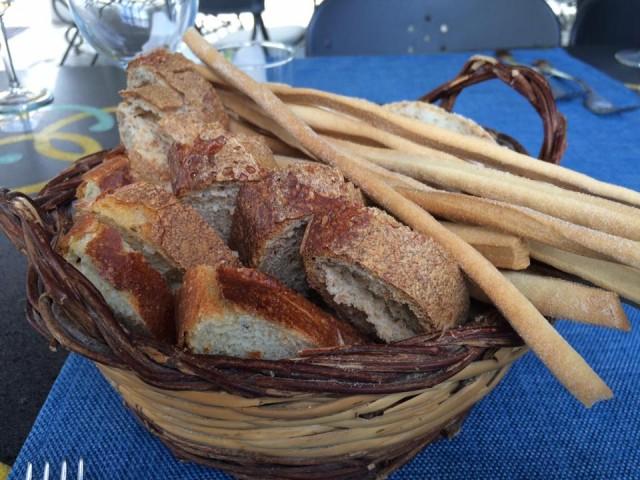 Pietratorcia, pane e grissini