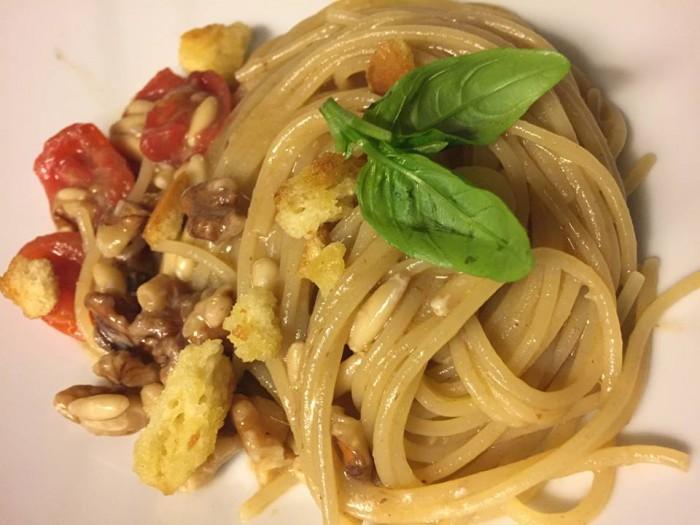 Locanda Moresca, spaghetti alla Masaniello