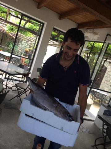 Pietratorcia, il pescato appena arrivato — con Dario Kelevra Petroni
