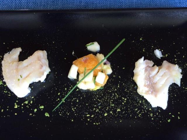 Pietratorcia, merluzzo e insalata di arance