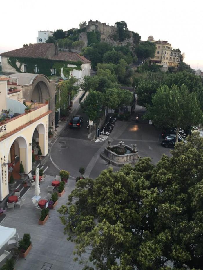 Locanda Moresca, vista su Ravello